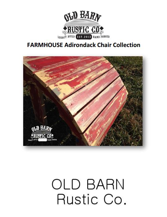 2014 Old Barn Rustic Co. Catalog