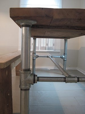 Galvanized Pipe Tables