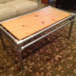 Galvanized Pipe Coffee Table