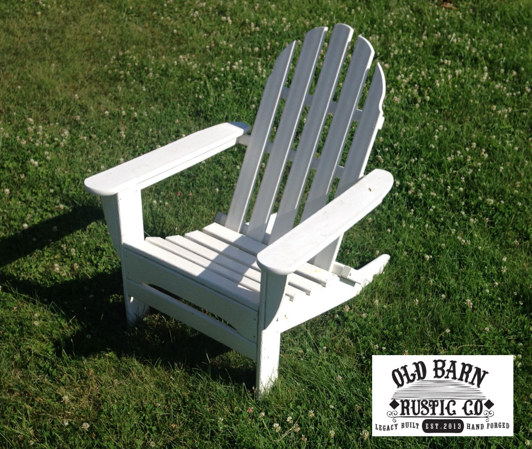 Old Glory Adirondack Chair