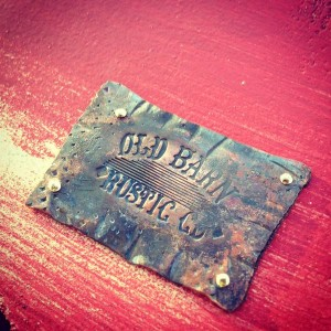 Hand Made Old Barn Stamp