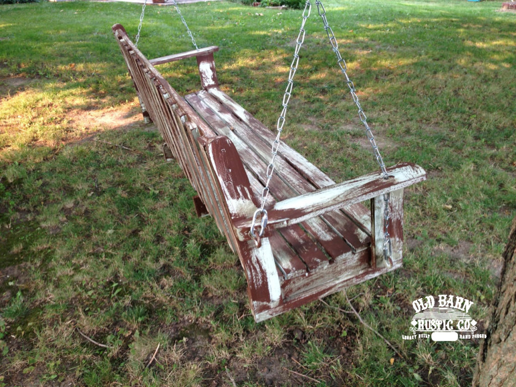 Farmhouse Swing by Old Barn Rustic Co. of America